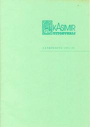 Kasimir aanbieding 1991-92 image