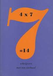 4 X 7 = 14 image